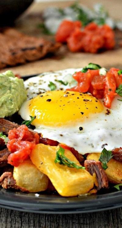 Carne Asada Breakfast Fries