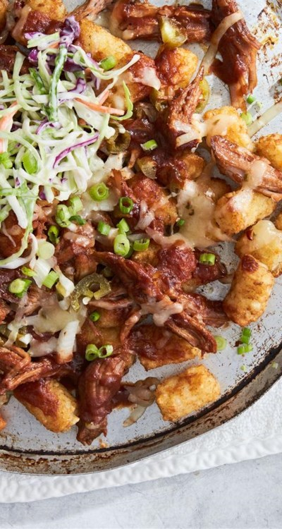 Memphis BBQ Pork Totchos