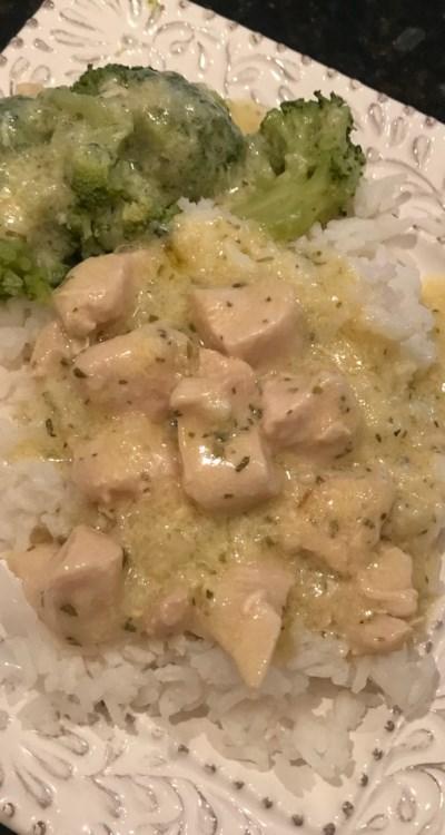 Secret Recipe Chicken Fricassee