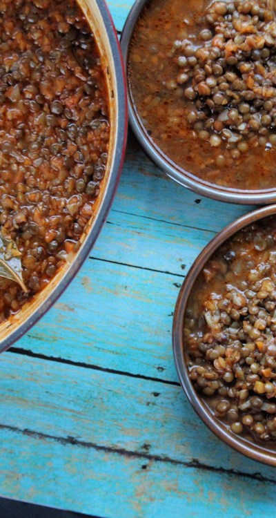 Greek Lentil Soup (Fakes)