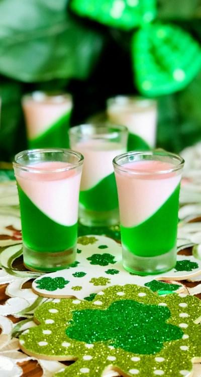 St. Patrick's Day Jell-O® Shots