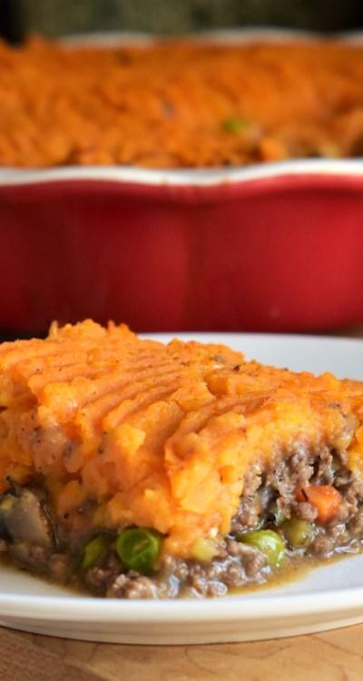 Sweet Potato and Venison Shepherd's Pie