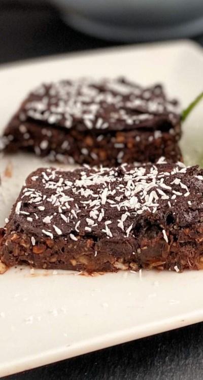 No-Bake Healthy Brownies