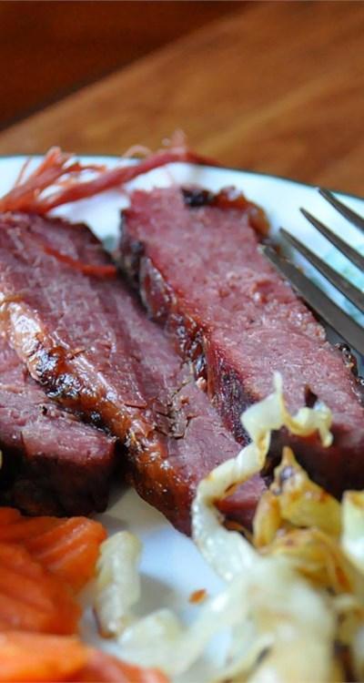 Braised Corned Beef Brisket