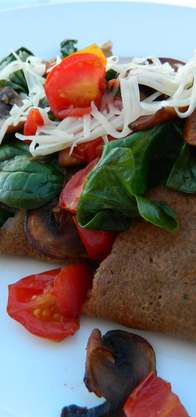 Savory French Crepes