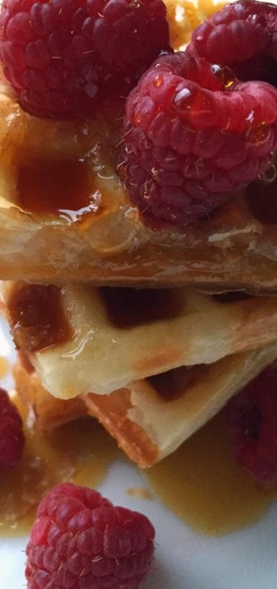 Puff Pastry Waffles