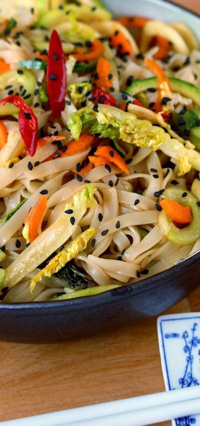 Thai Rice Noodle Salad