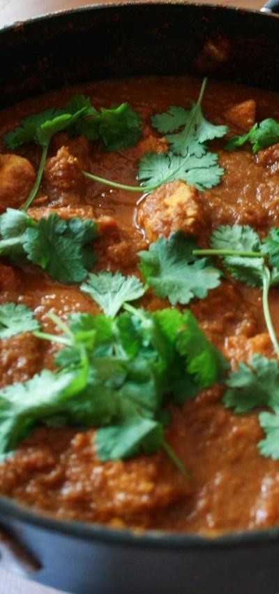 Easy Chicken Madras Recipe