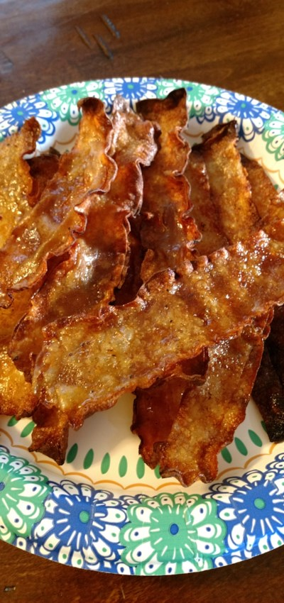 Rice Paper Fake Bacon