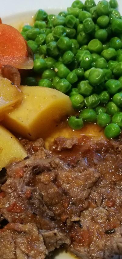 Wine-Braised Beef Brisket