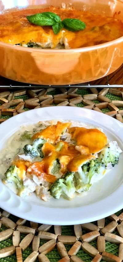 Keto Chicken-Broccoli Casserole