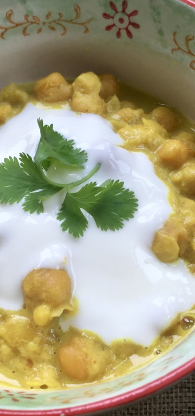 Clean-Eating Coconut Chickpea Curry