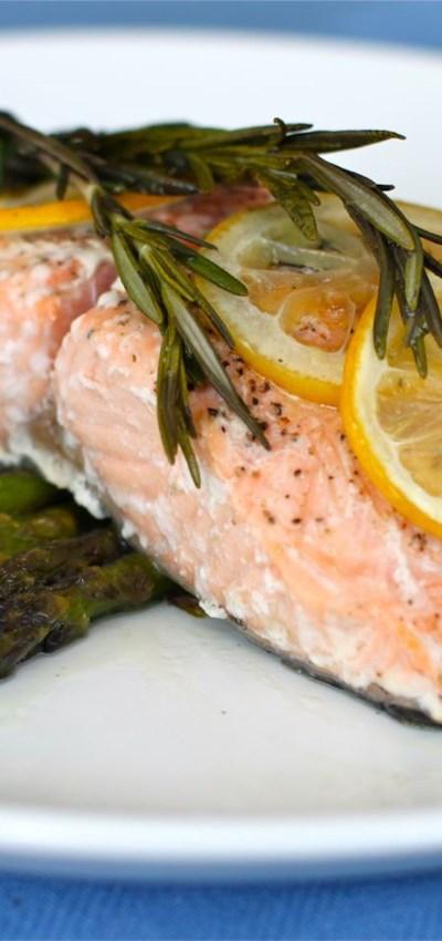Lemon Rosemary Salmon