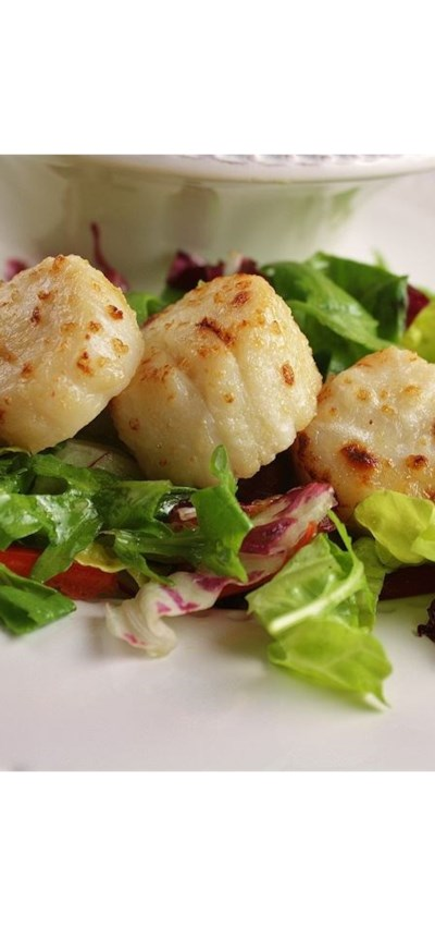 Broiled Scallops