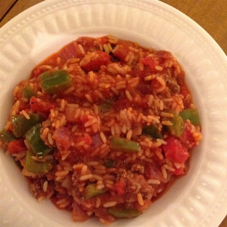 Spicy American Spanish Rice Romark