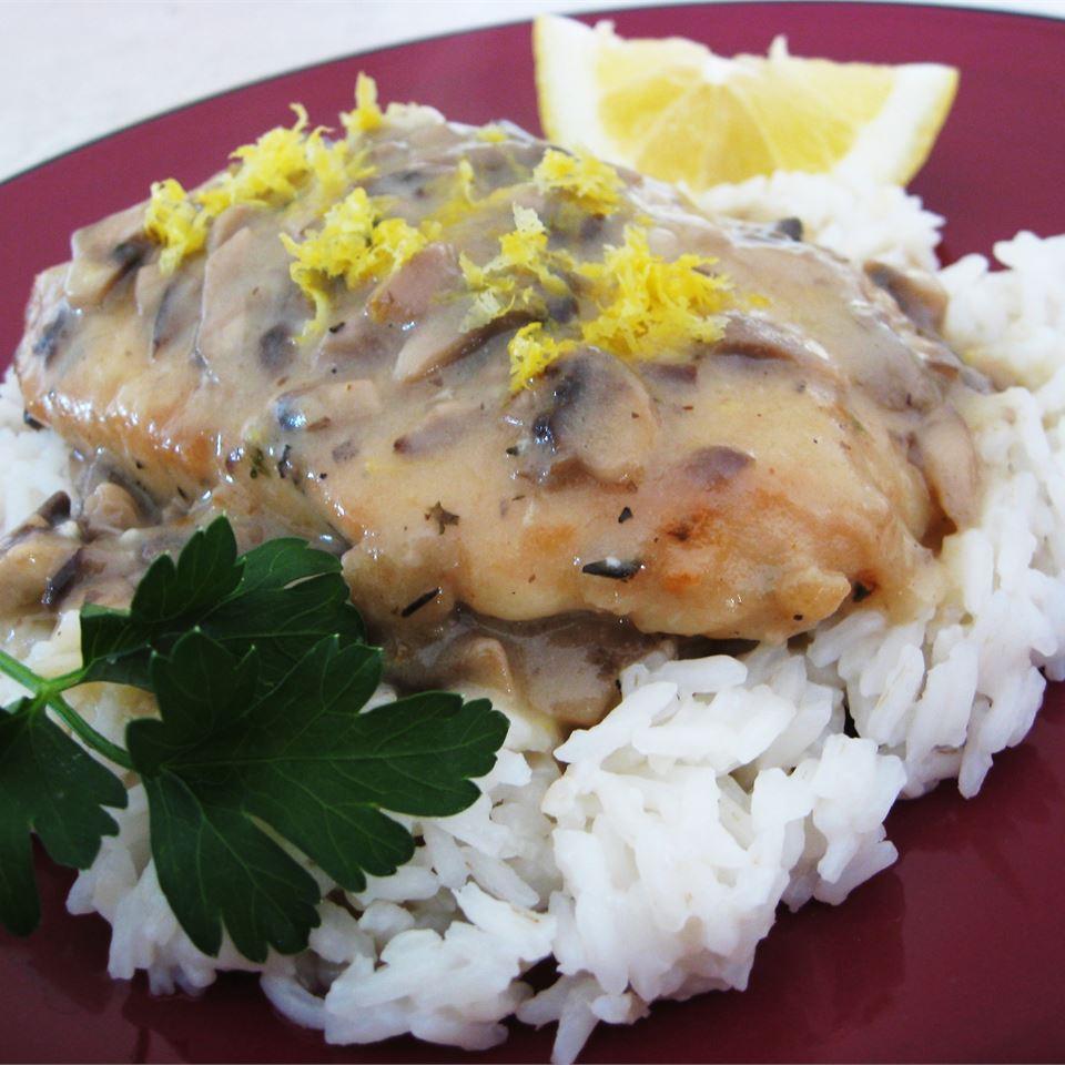 Lemon Mushroom Herb Chicken Valerie Serao