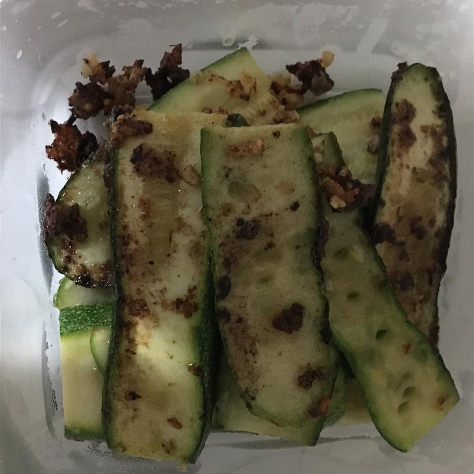 Grilled Parmesan Zucchini Emperor Panja