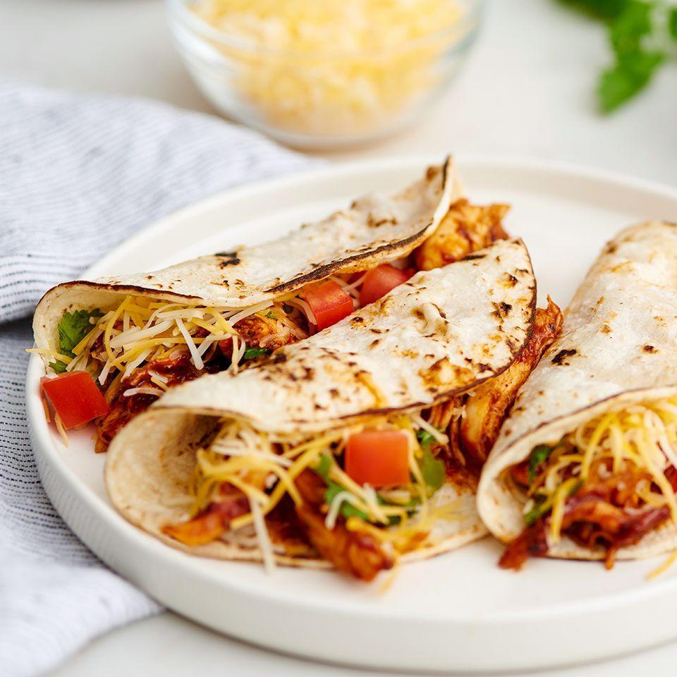 Southwest Bbq Chicken Tacos Recipe Allrecipes
