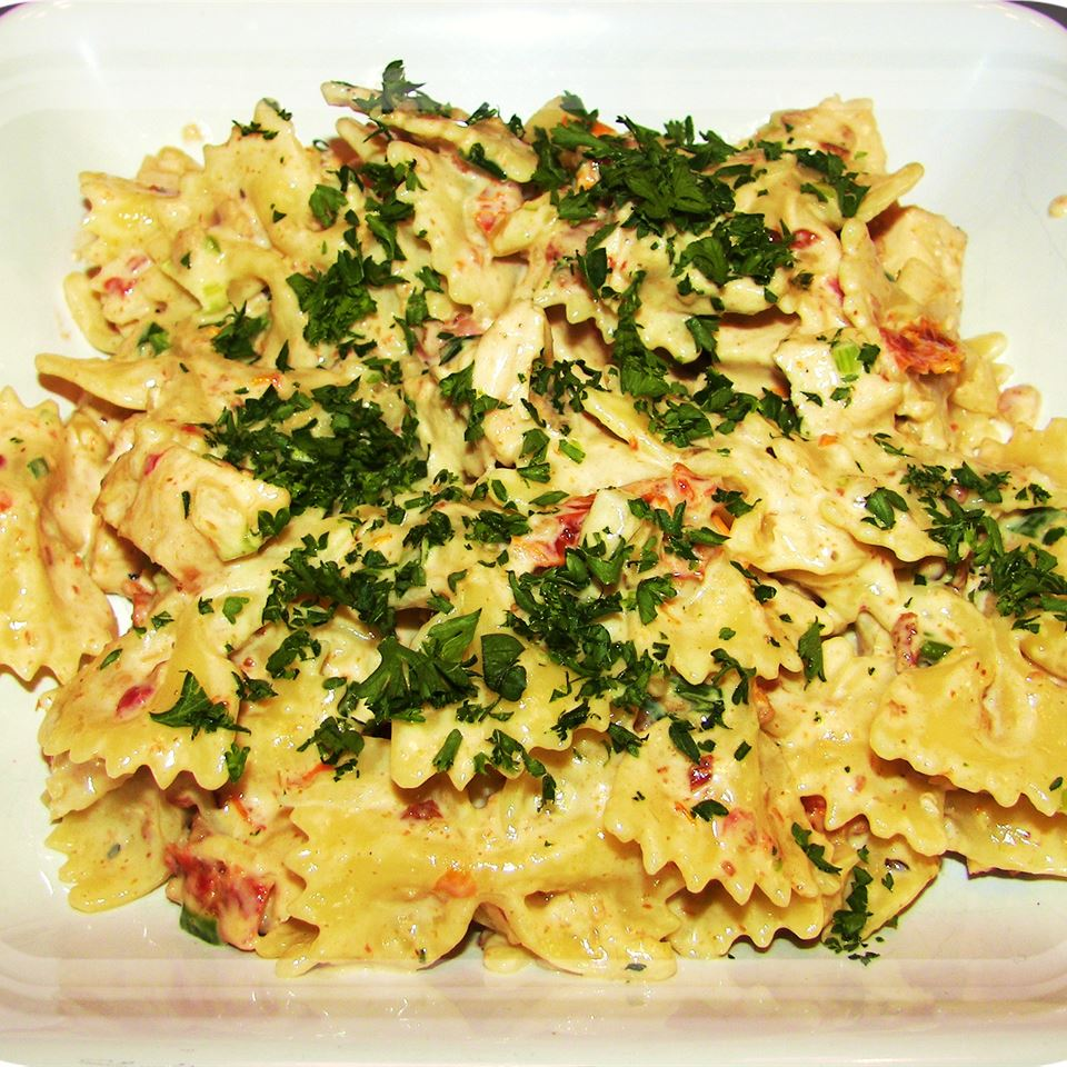 Asiago Sun-Dried Tomato Pasta Nika Gregory Steward