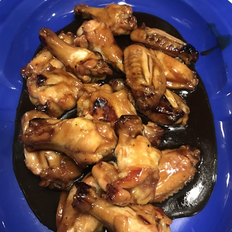 Easy Baked Chicken Wings Charles E. Morgan IV