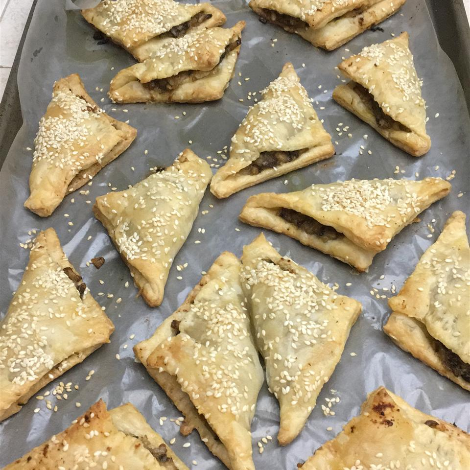 Brie and Mushroom Phyllo Puffs alexmuz