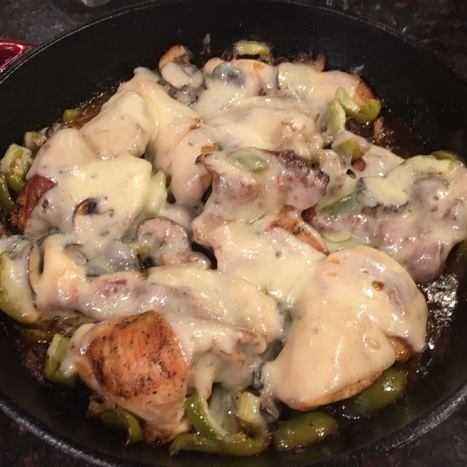 Crock Pot Portobello Chicken