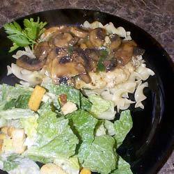 Chicken and Mushroom Saute