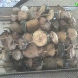 Marinated Chicken Kabobs pchotrani