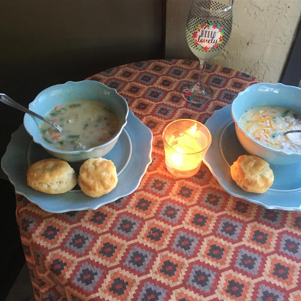 Chicken Pot Pie Soup Mrs Muffin
