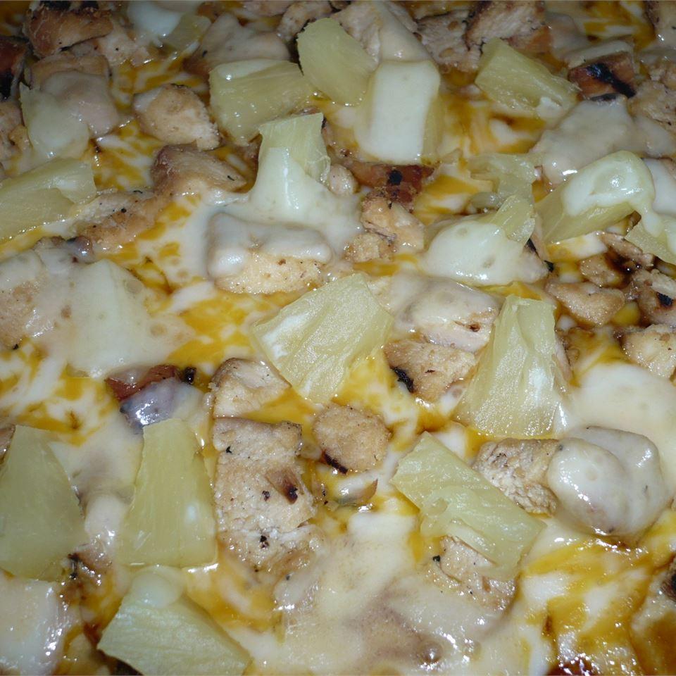 Teriyaki Chicken Pizza ejw825