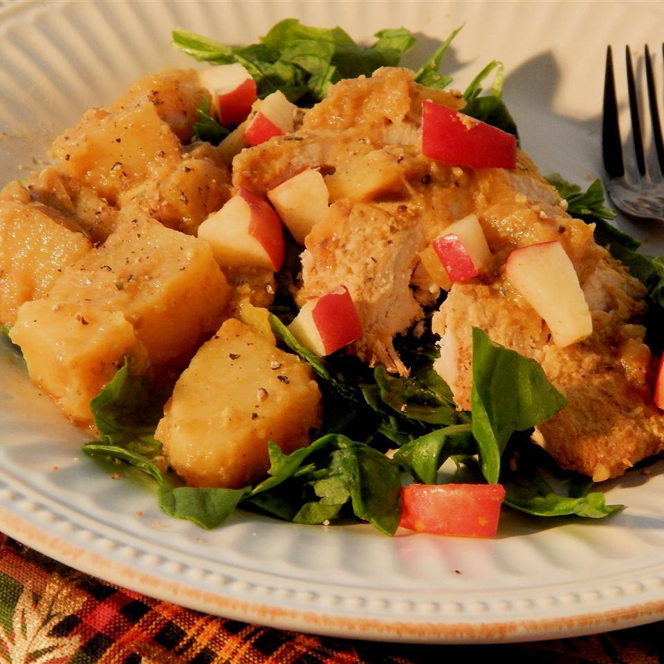 Paleo Chicken with Apple and Sweet Potato Christina Brinker