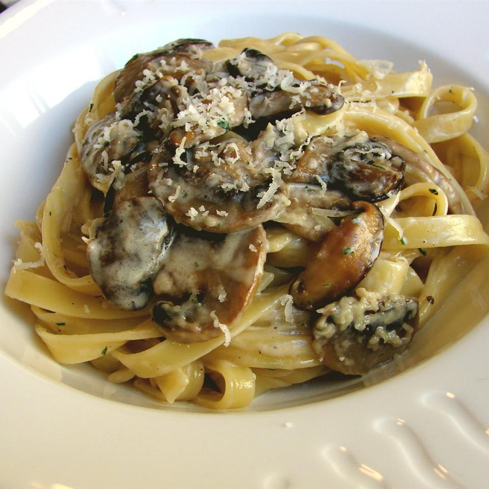 Chef John's Creamy Mushroom Pasta - Printer Friendly