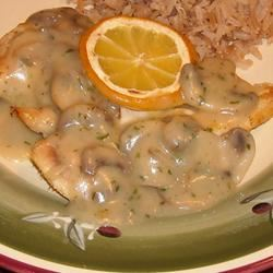 Baked Lemon Chicken with Mushroom Sauce ~TxCin~ILove2Ck