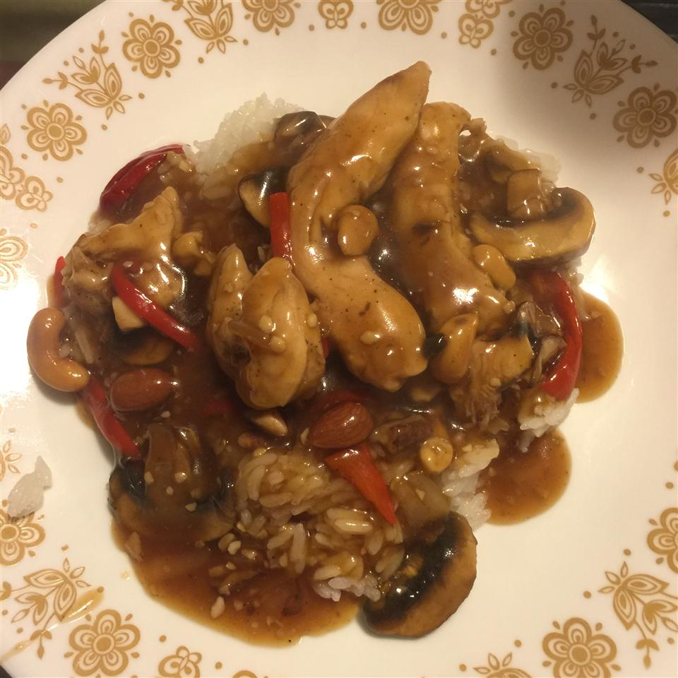 Asian Chicken with Peanuts Dawn-Kevin Brickman