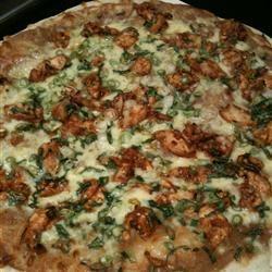 Gourmet Thai Chicken Pizza