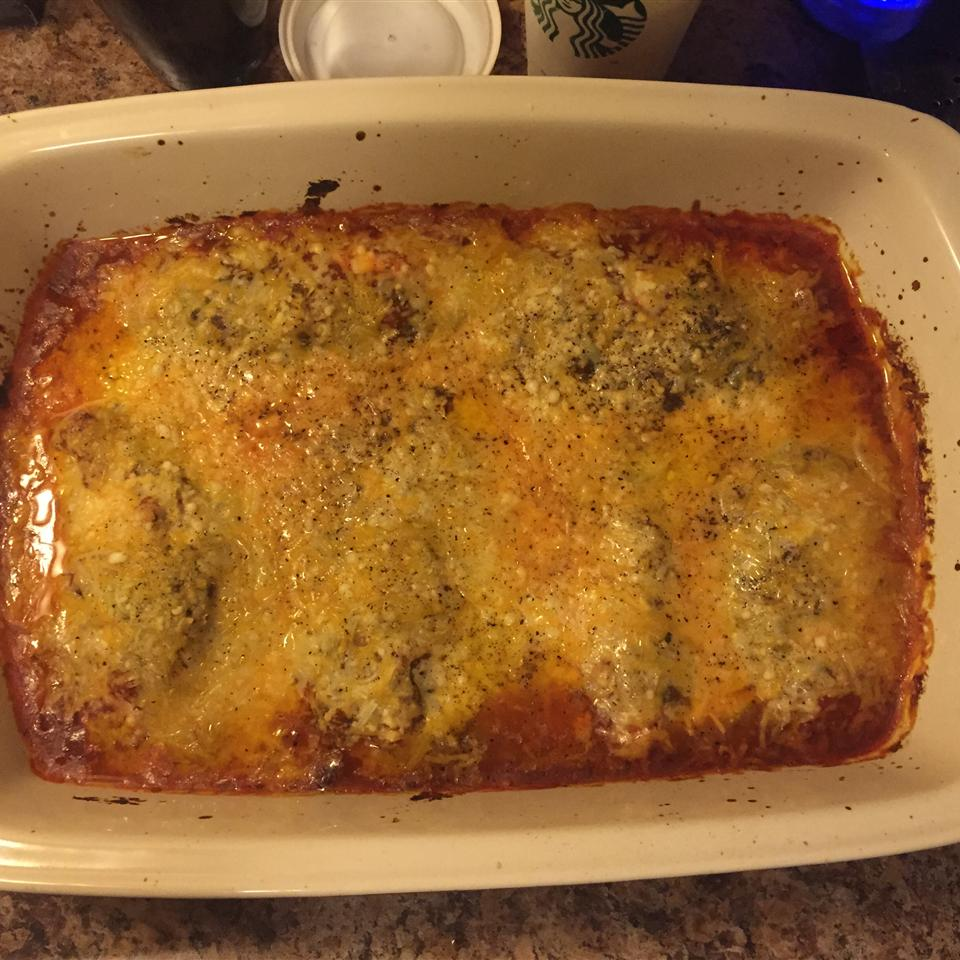The Best Parmesan Chicken Bake