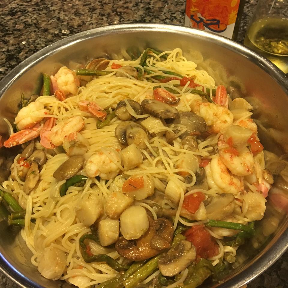 Sea-Purb Seafood Pasta