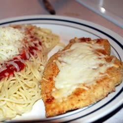 Simply Parmesan Chicken Melissa
