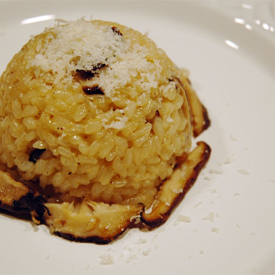 Chanterelle Risotto Christine M. Cook