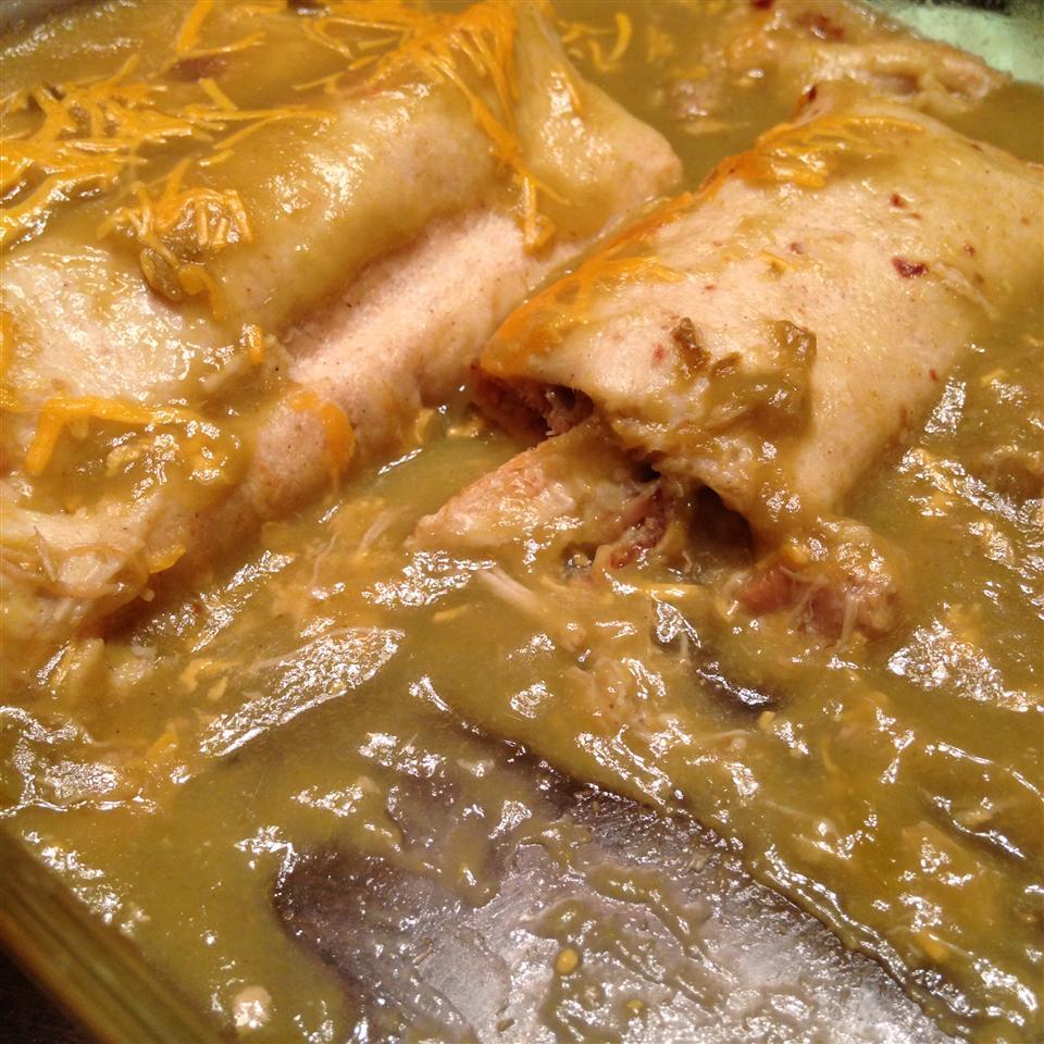Green Chicken Enchilada RedRedus77