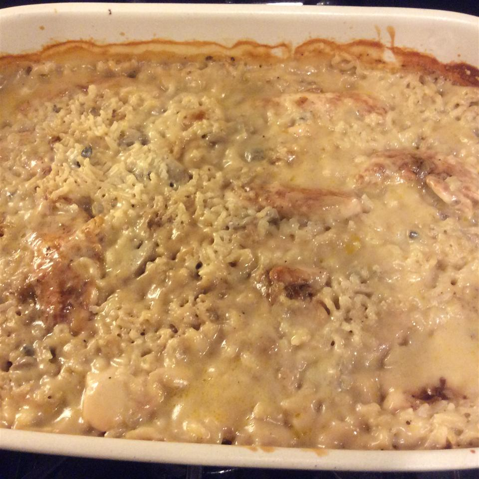 Busy Day Chicken Rice Casserole pixiedust7t
