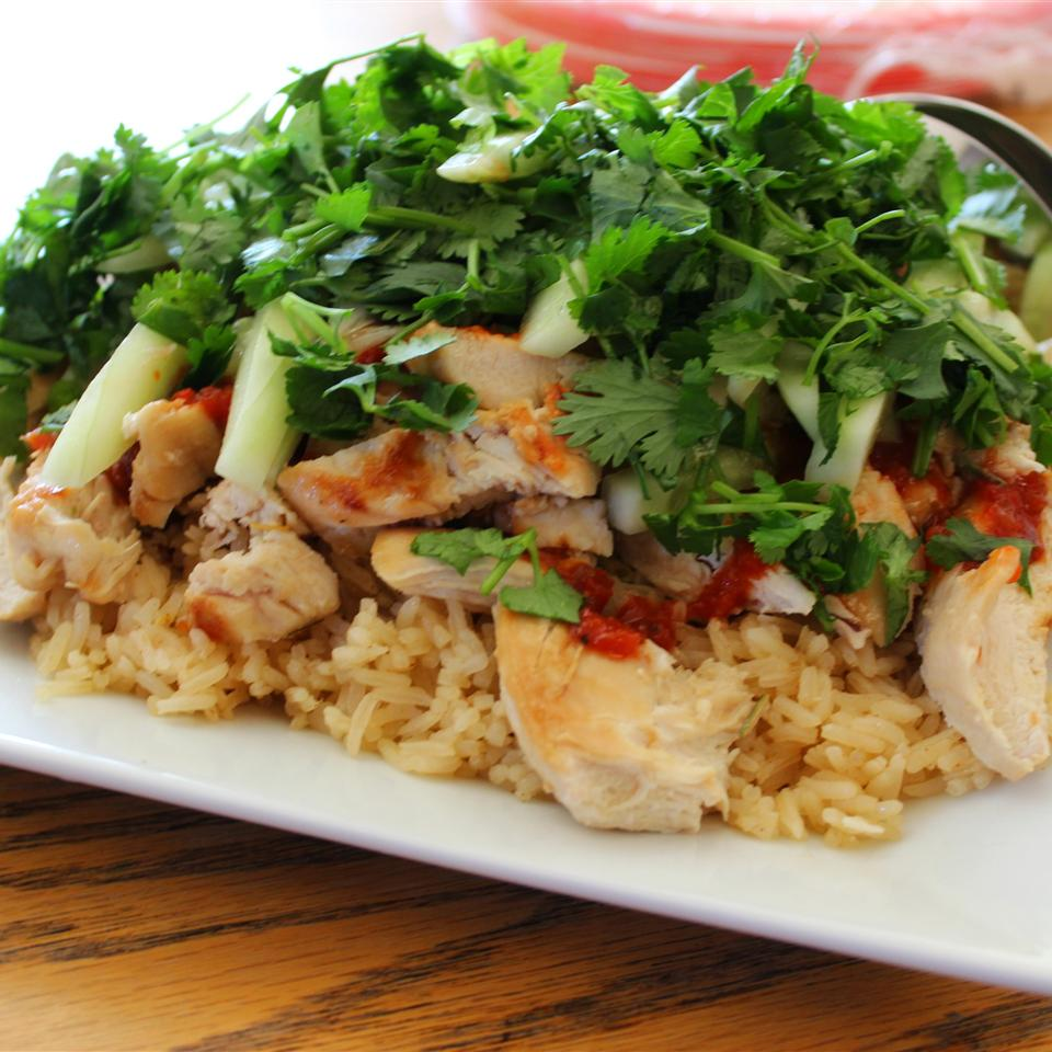 Jackie's Lemongrass Ginger Chile Chicken and Rice Diana71