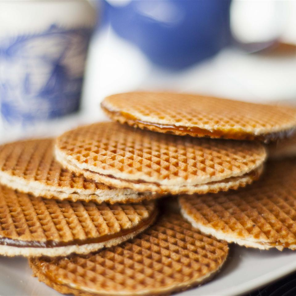 Stroopwafels with Treacle