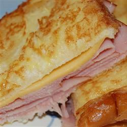 Aunt Bev's Glorified Grilled Cheese Sandwich