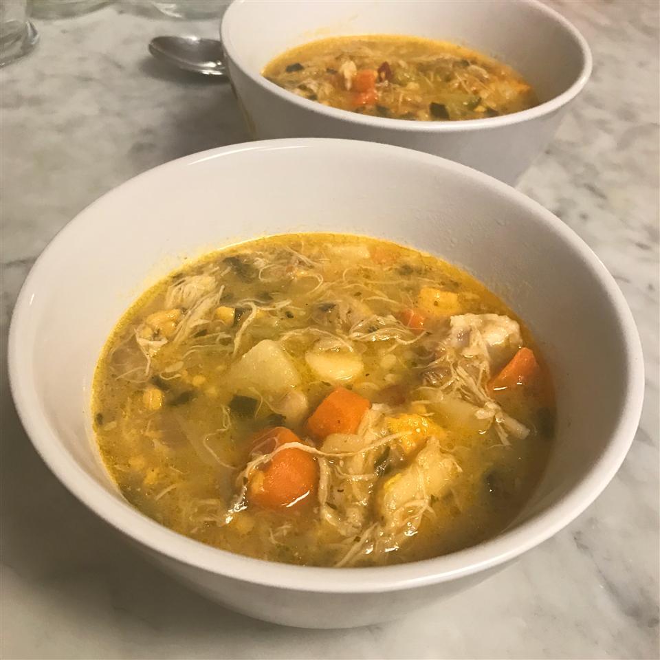 White Wine Chicken Soup fabeverydayblog