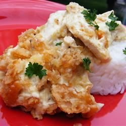 Chicken Crunch Casserole image