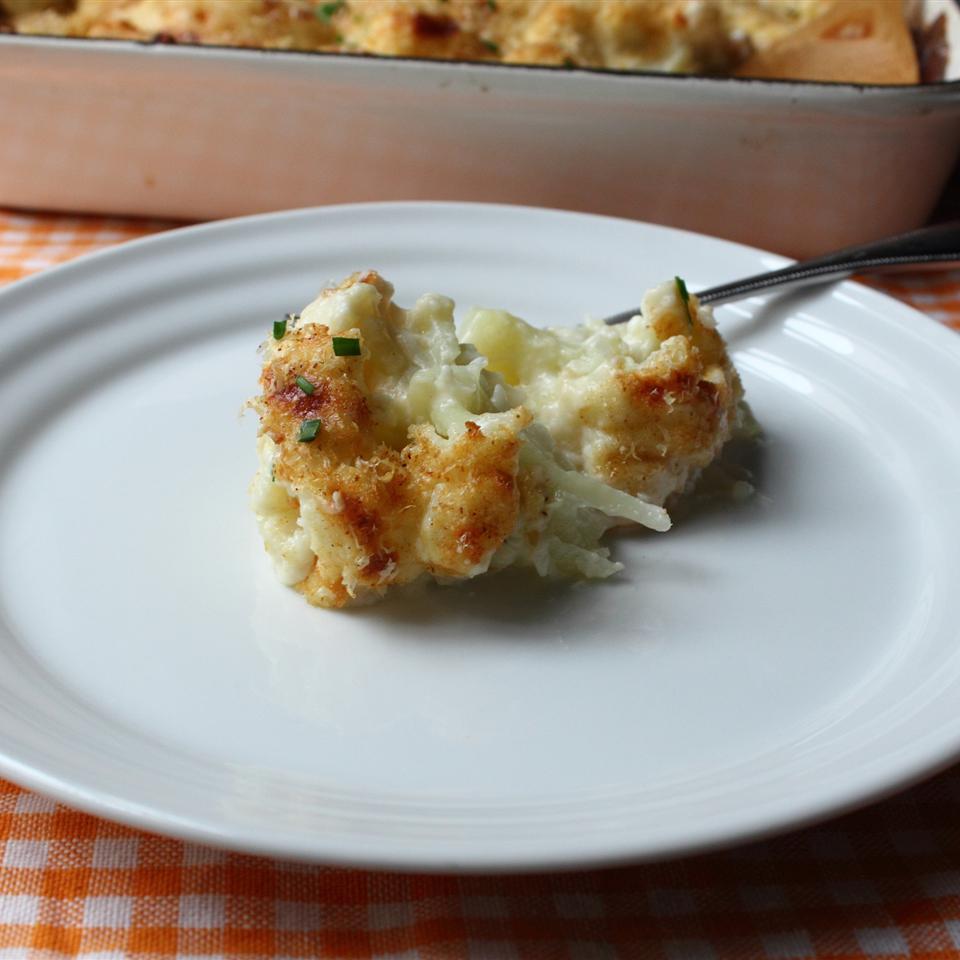 Truffled Cauliflower Gratin Chef John