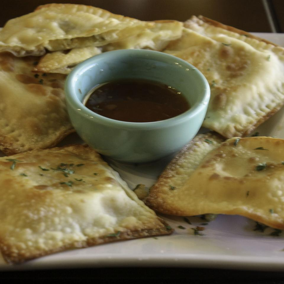 Baked Jalapeno Chicken and Cheese Wontons Janet Henderson