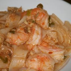 Simple Shrimp Pad Thai