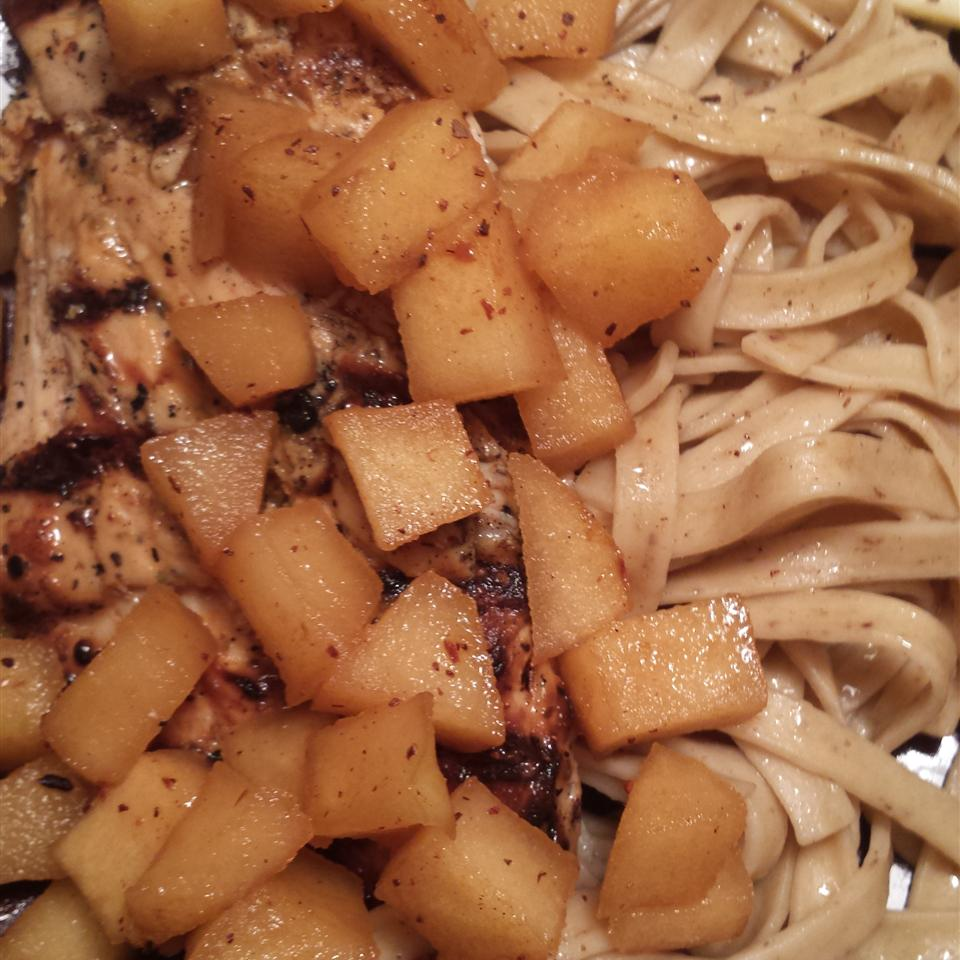 Apple Cider Chicken with Noodles LAURDSED